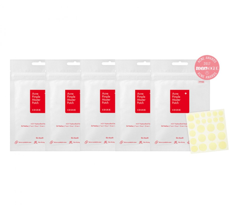 COSRX Acne Pimple Master Patch 24 patches (5 sheets)