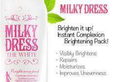 Milk Dress White