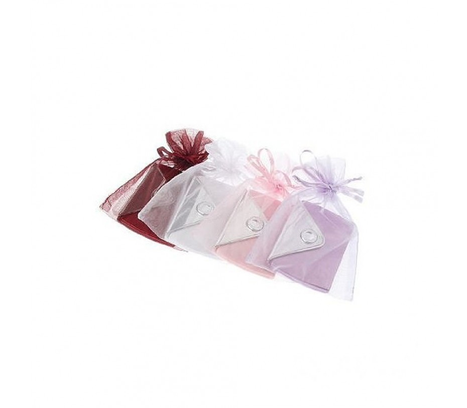 Envelope Shaped Mirror Compacts (Pack of 4)
