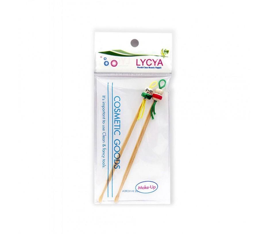 LYCYA Duo Bamboo Earpicks Ear Wax Remover