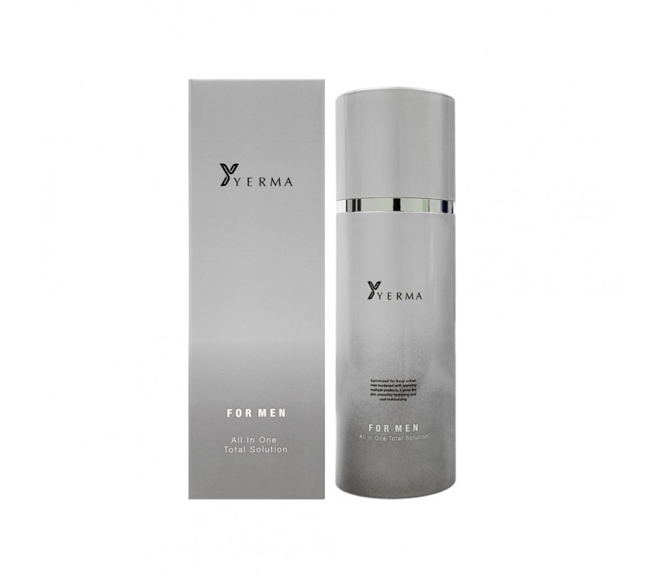 YERMA for Men All in One Total Solution 4.05fl.oz/120ml