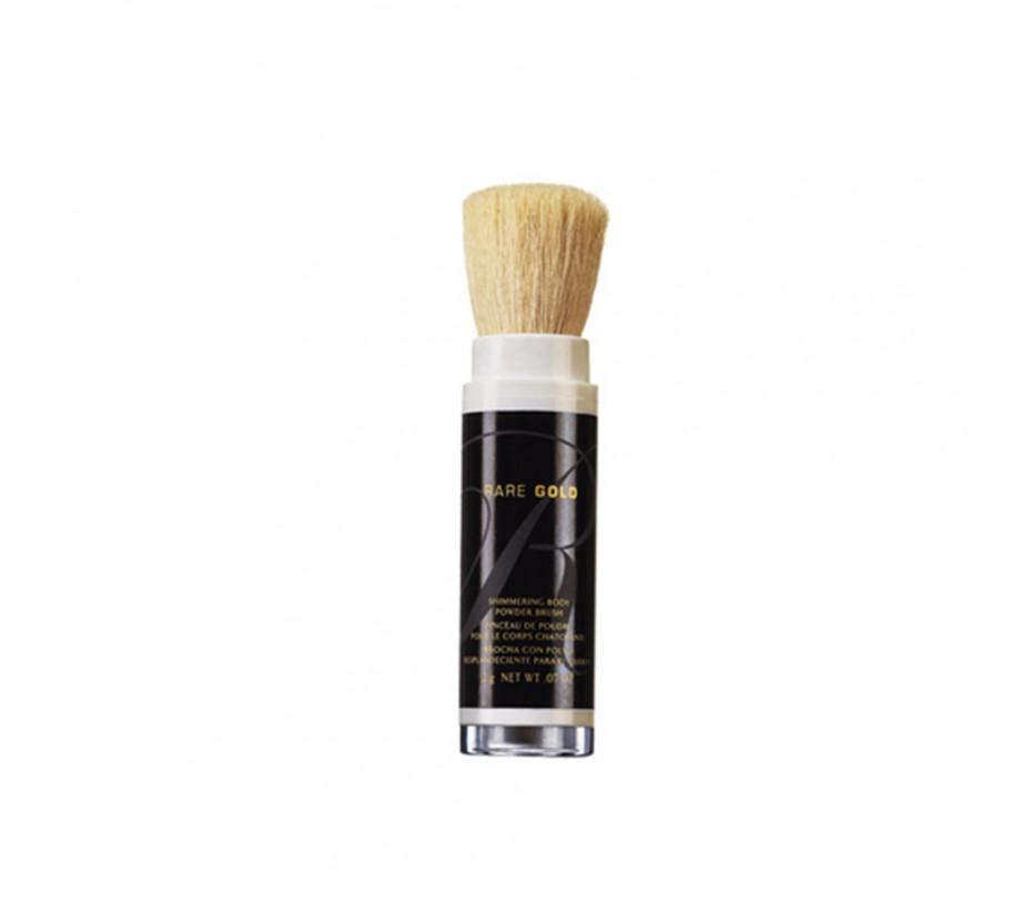 Avon Rare Gold Shimmering Body Powder Brush 0.07oz/2g