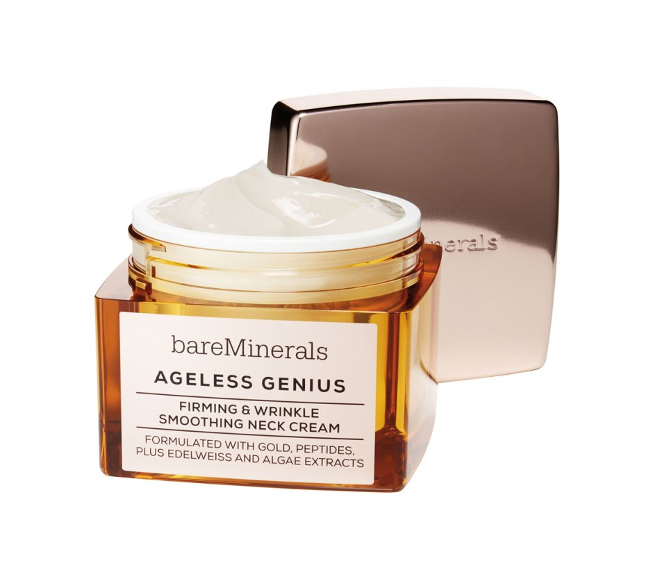 Bareminerals  Ageless Genius Firming & Wrinkle Smoothing Neck Cream 1.7oz/50g