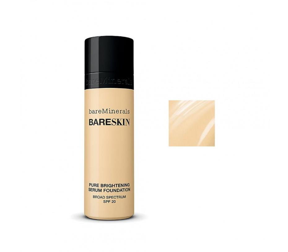 Bare Escentuals BareSkin Pure Brightening Serum Foundation Broad Spectrum SPF 20 (Bare Cream 05) 1fl.oz/30ml