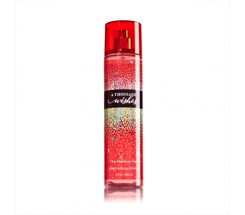 Bath and Body Works A Thousand Wishes Fine Fragrance Mist 8