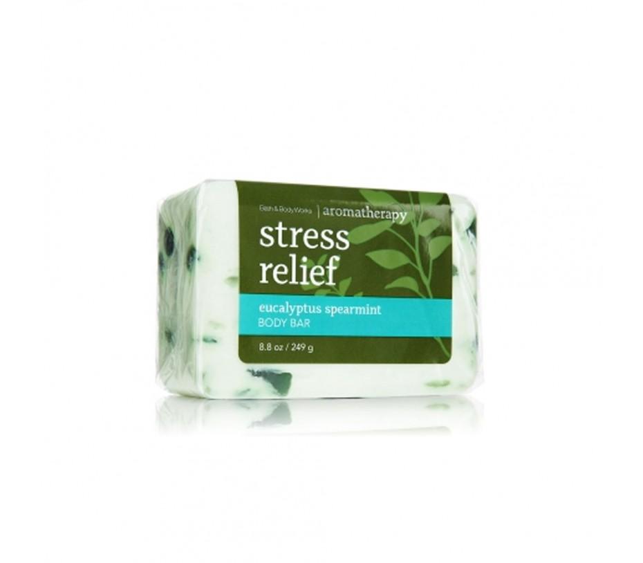 Bath and Body Works Aromatherapy Stress Relief Eucalyptus Spearmint Body Bar 8.8oz/249g