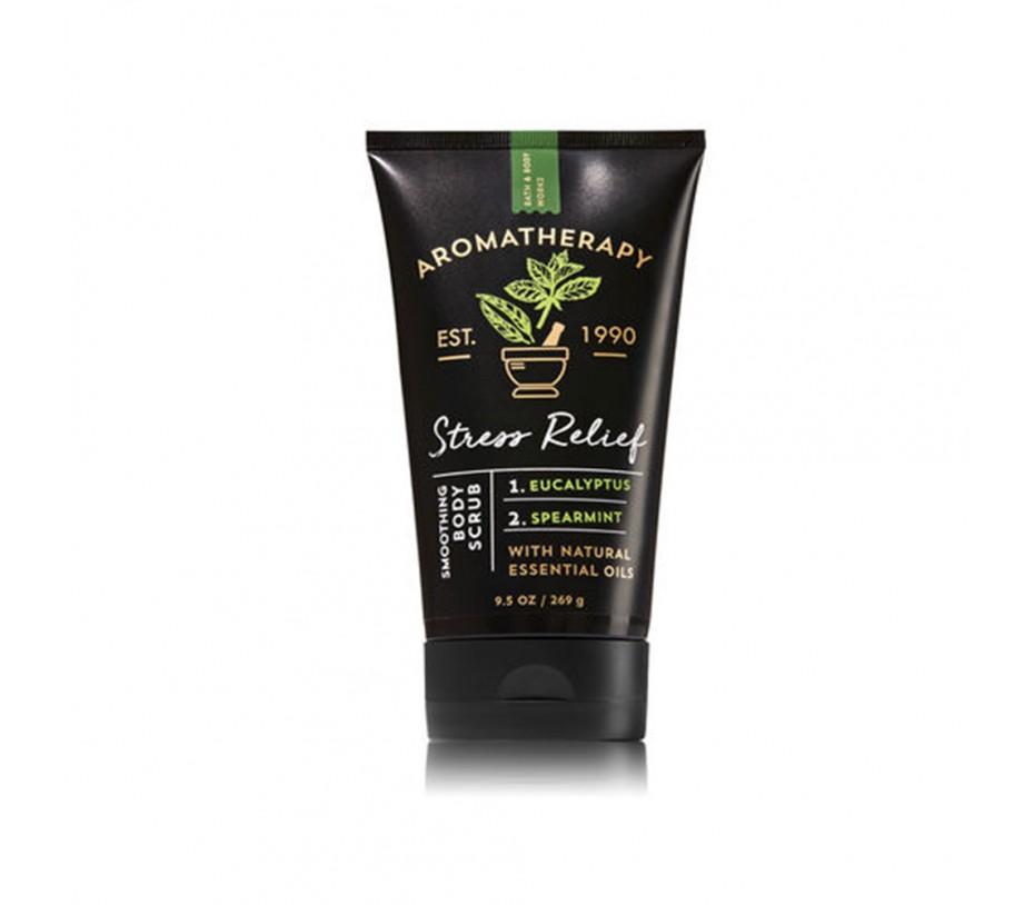 Bath and Body Works Aromatherapy Stress Relief Eucalyptus & Spearmint Smoothing Body Scrub 9.5oz/269g