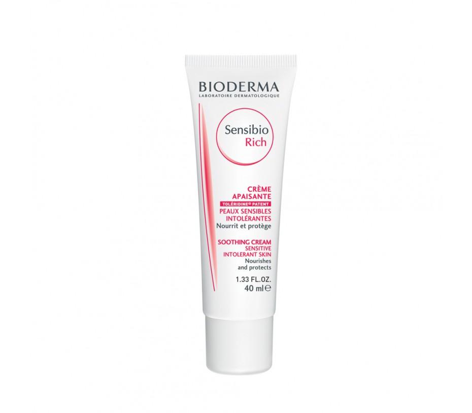 Bioderma Sensibio Rich Cream 1.33fl.oz/40ml