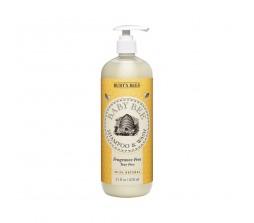 Burt's Bee Baby Bee Shampoo & Wash (Fragrance & Tear Free) 21fl.oz/621ml