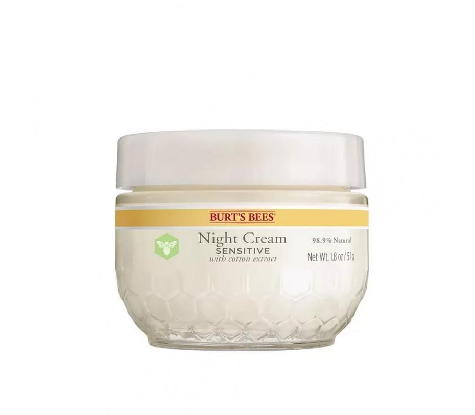 Burt's Bee Night Cream Sensitive 1.8oz/51g