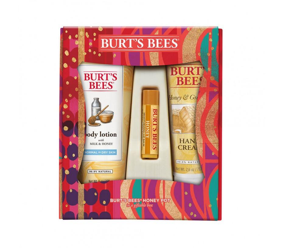 Burt's Bee Honey Pot