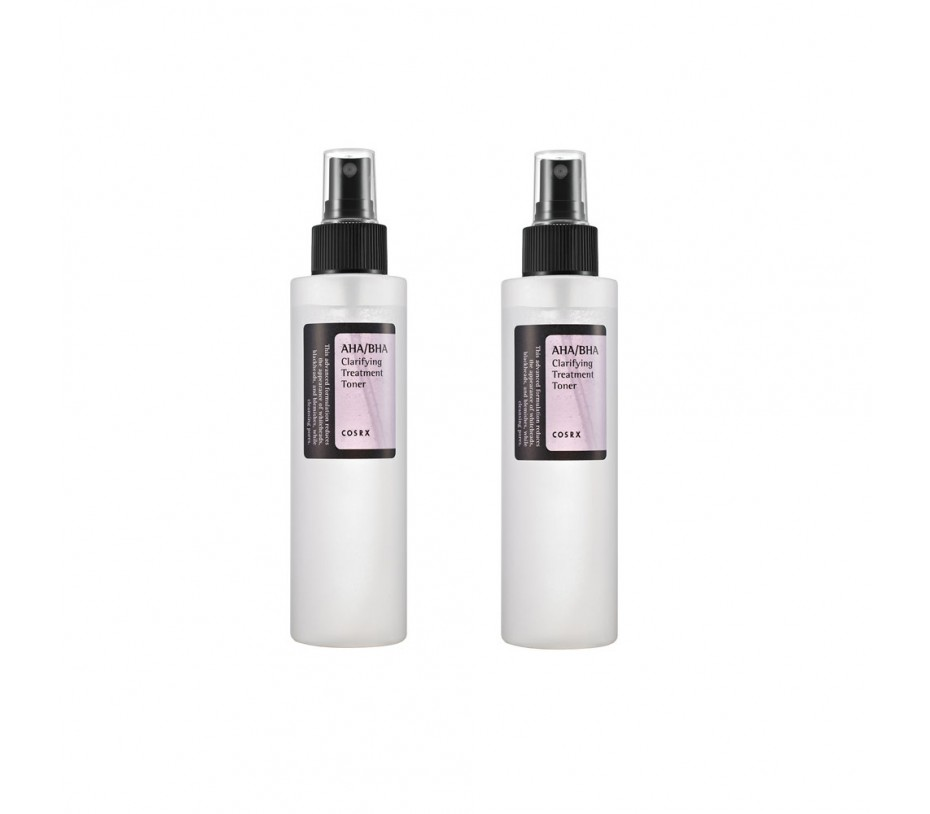 COSRX AHA/BHA Clarifying Treatment Toner (2packs) 5.07fl.oz/150ml
