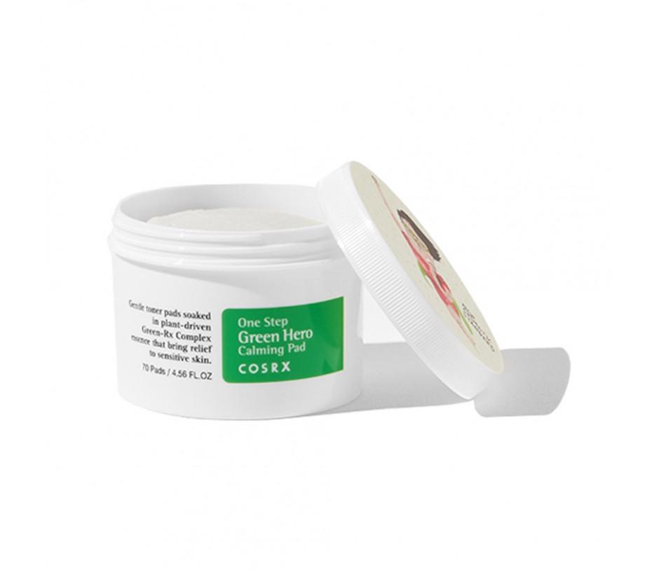 COSRX One Step Green Hero Calming Pad 4.56fl.oz/70pads