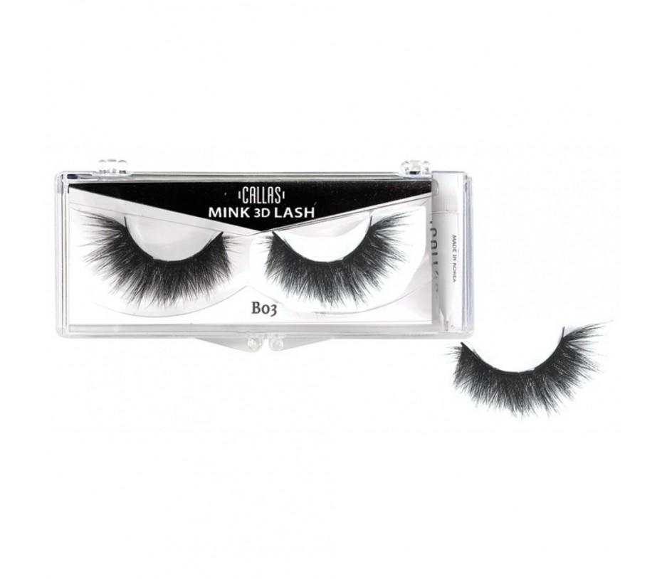 Callas 3D Mink Eyelash B03