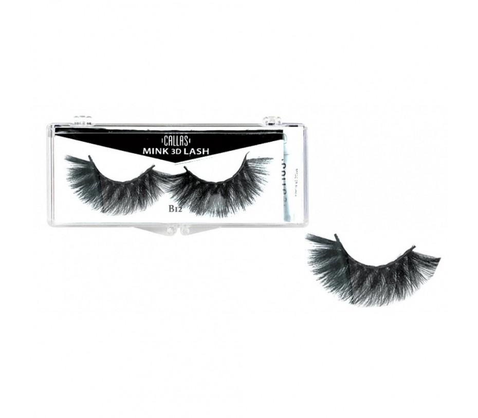 Callas 3D Mink Eyelash B12