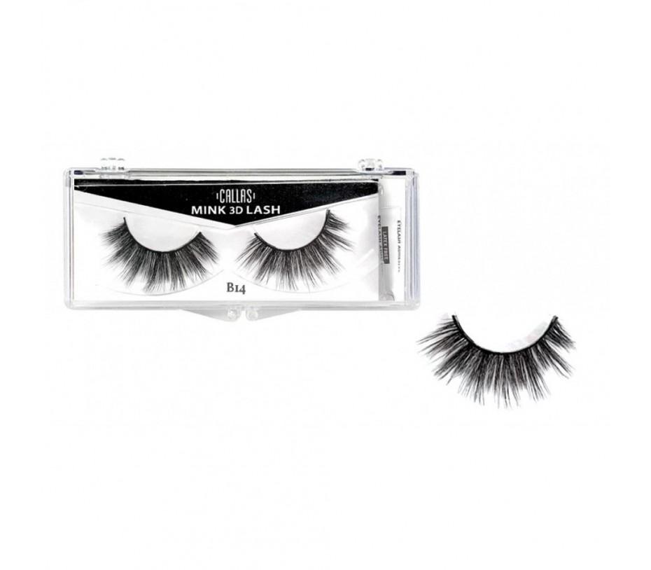Callas 3D Mink Eyelash B14
