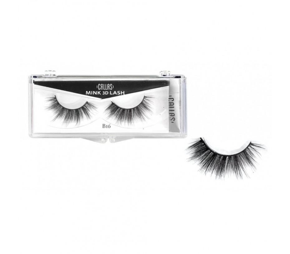 Callas 3D Mink Eyelash B16