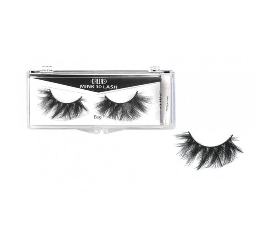 Callas 3D Mink Eyelash B19
