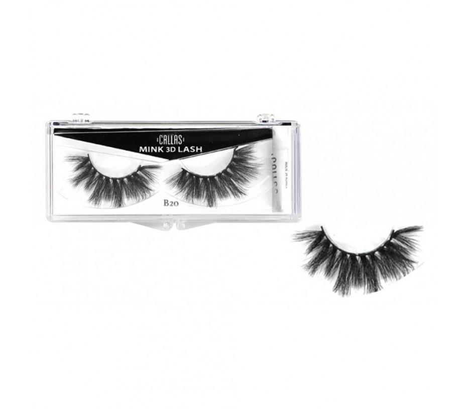 Callas 3D Mink Eyelash B20