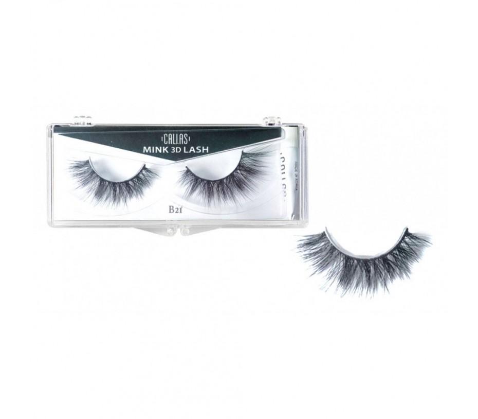 Callas 3D Mink Eyelash B21