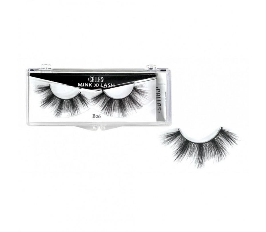 Callas 3D Mink Eyelash B26