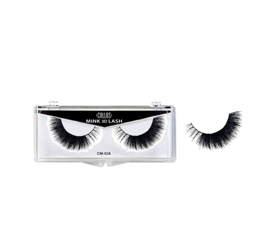 Callas 3D Mink Eyelash (CM-G18)