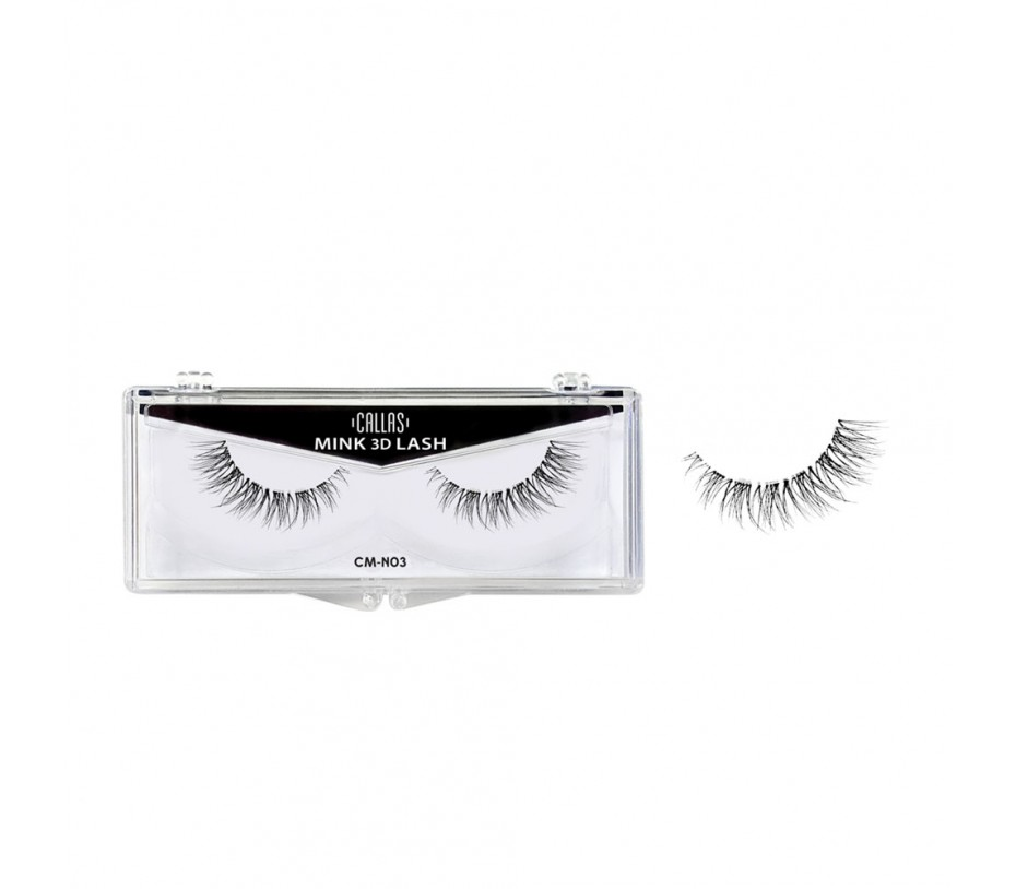 Callas 3D Mink Eyelash (CM-N03)