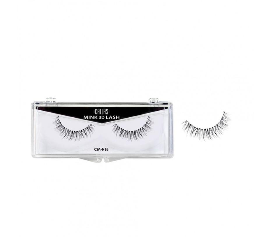 Callas 3D Mink Eyelash (CM-N18)