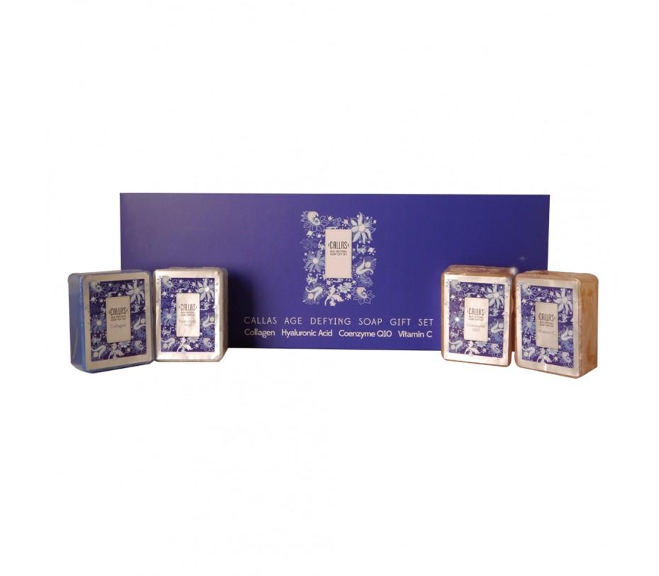 Callas Age Defying Soap Gift Set 3.88oz/110g x 4