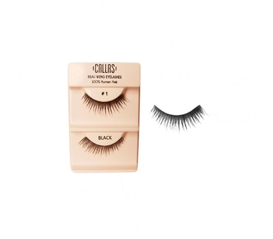 Callas Beau Wing Eyelashes #1