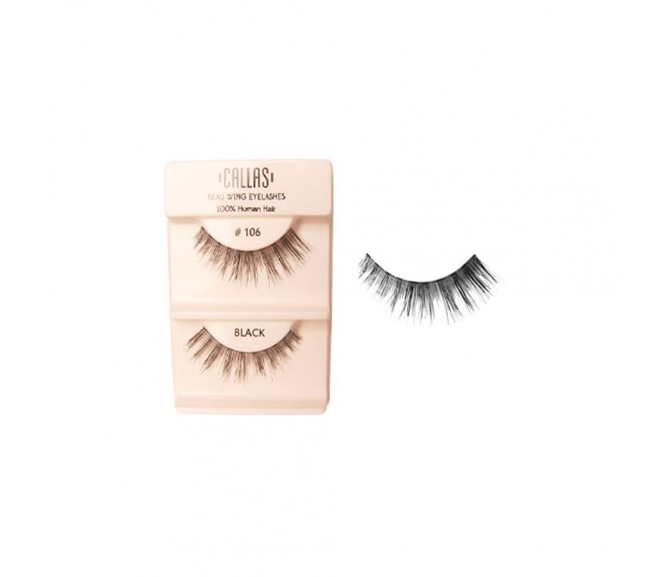 Callas Beau Wing Eyelashes #106