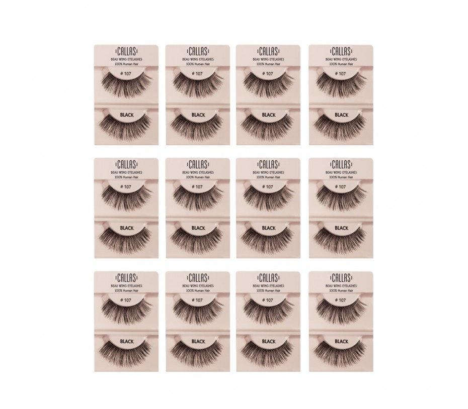 Callas Beau Wing Eyelashes #107 1pair x 12sets