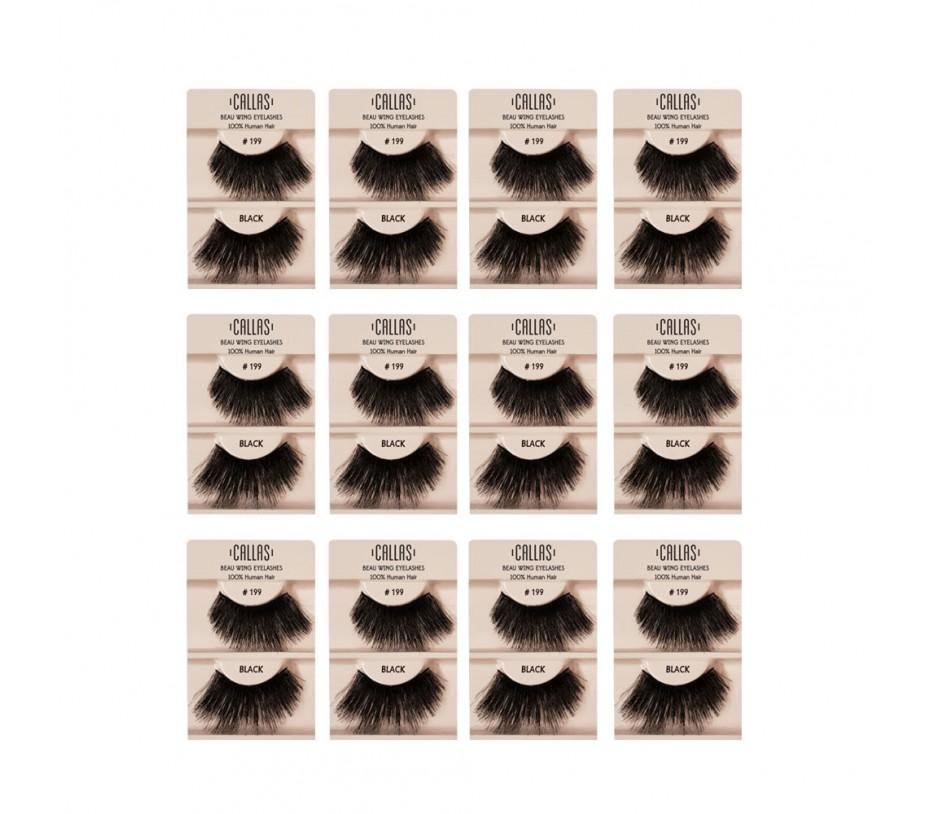 Callas Beau Wing Eyelashes #199 1pair x 12sets