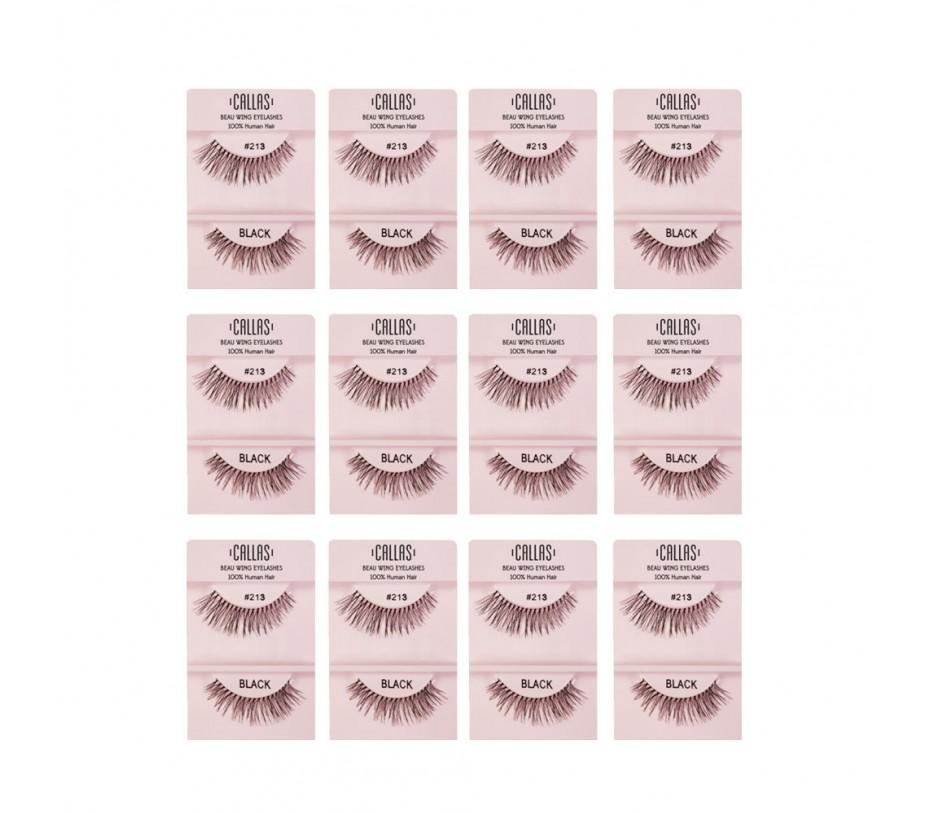 Callas Beau Wing Eyelashes #213 1pair x 12sets