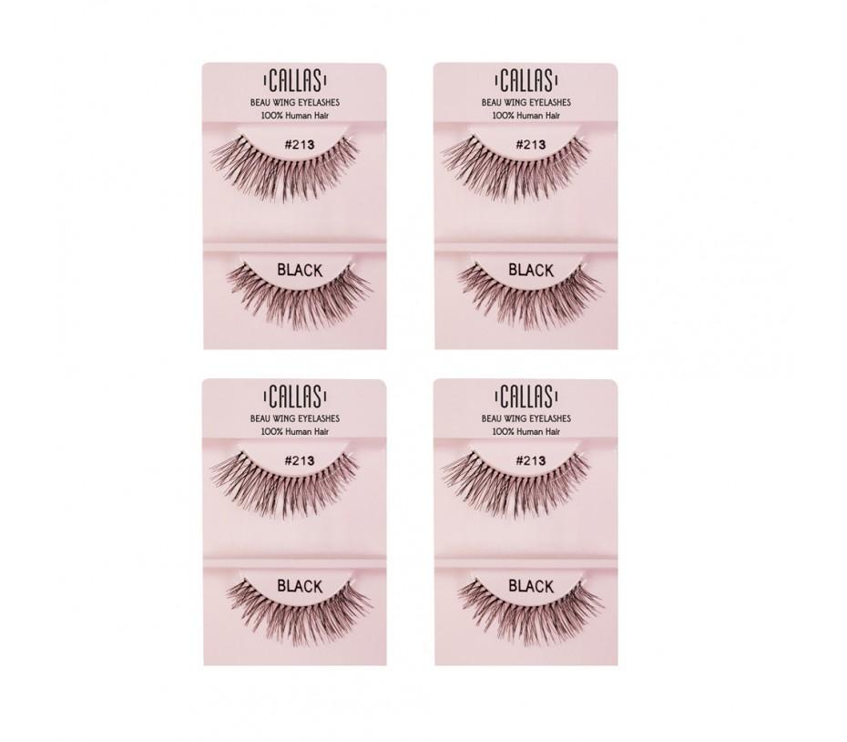 Callas Beau Wing Eyelashes #213 1pair x 4sets