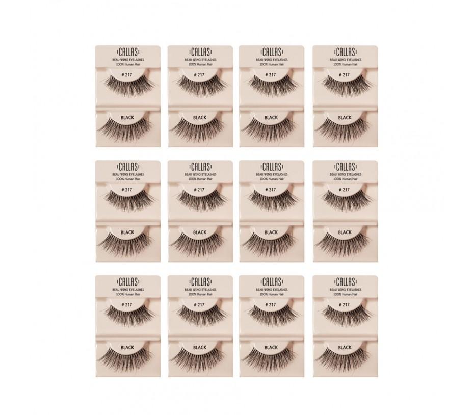 Callas Beau Wing Eyelashes #217 1pair x 12sets