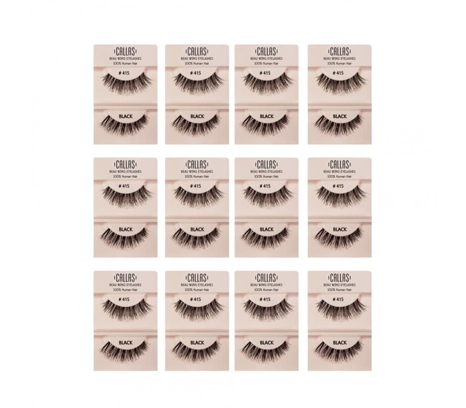 Callas Beau Wing Eyelashes #415 1pair x 12sets