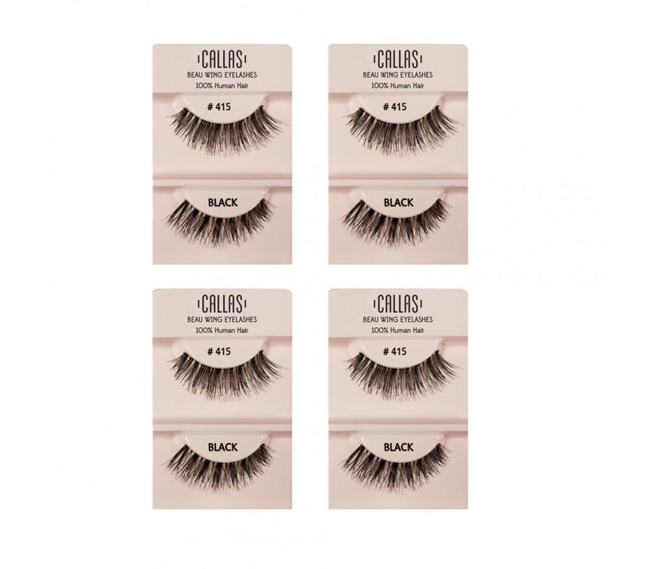Callas Beau Wing Eyelashes #415 1pair x 4sets