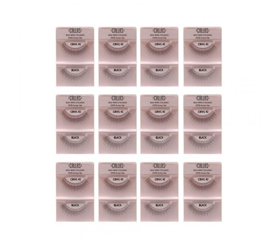 Callas Beau Wing Eyelashes #42 1pair x 12sets