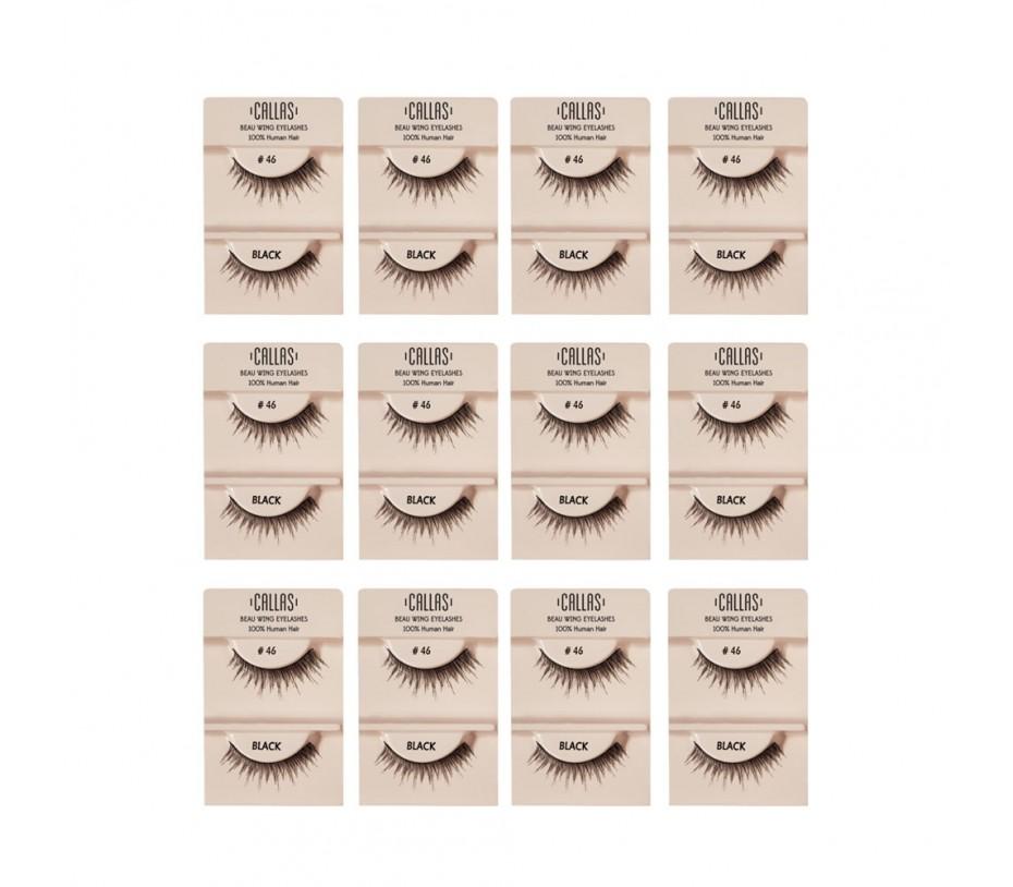Callas Beau Wing Eyelashes #46 1pair x 12sets