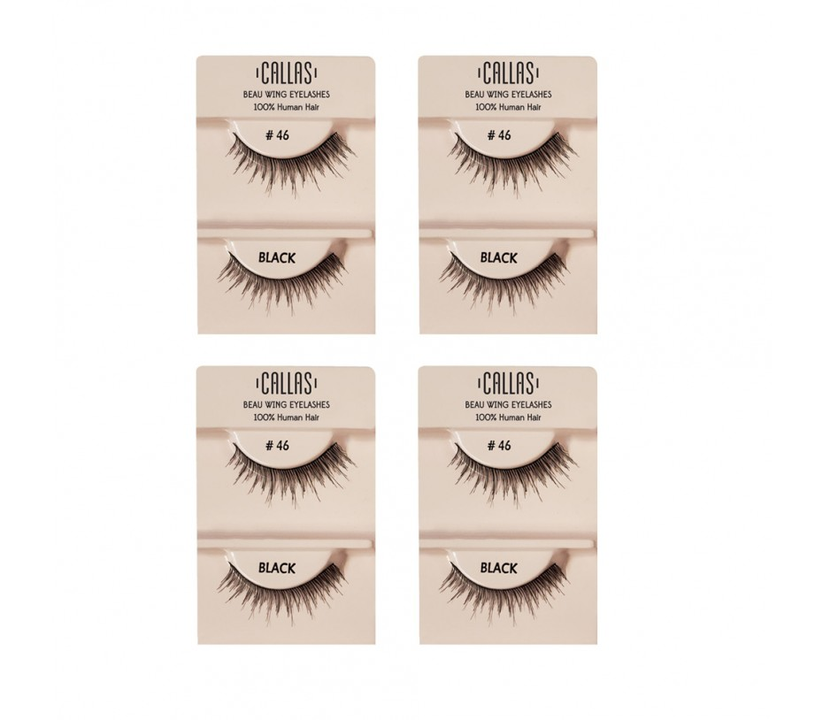 Callas Beau Wing Eyelashes #46 1pair x 4sets