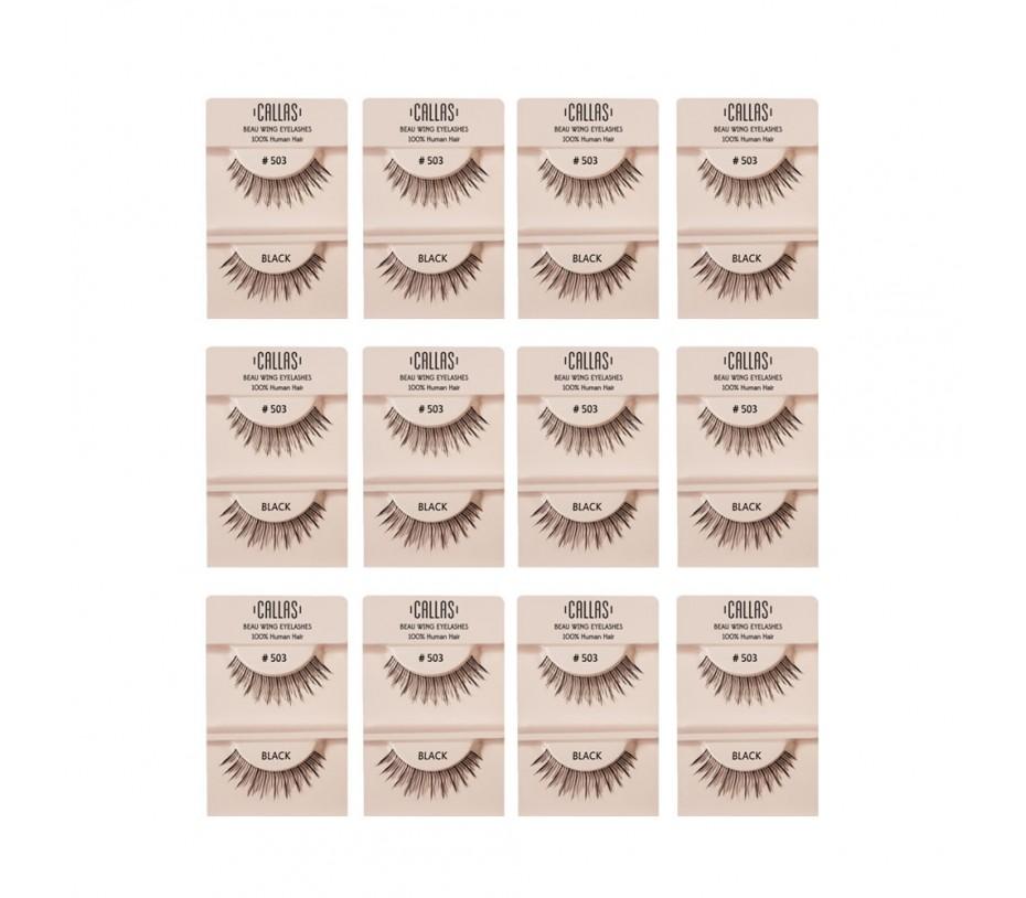 Callas Beau Wing Eyelashes #503 1pair x 12sets