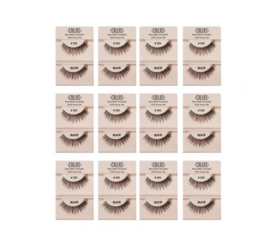 Callas Beau Wing Eyelashes #505 1pair x 12sets