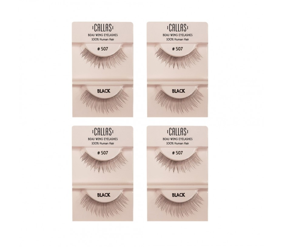 Callas Beau Wing Eyelashes #507 1pair x 4sets