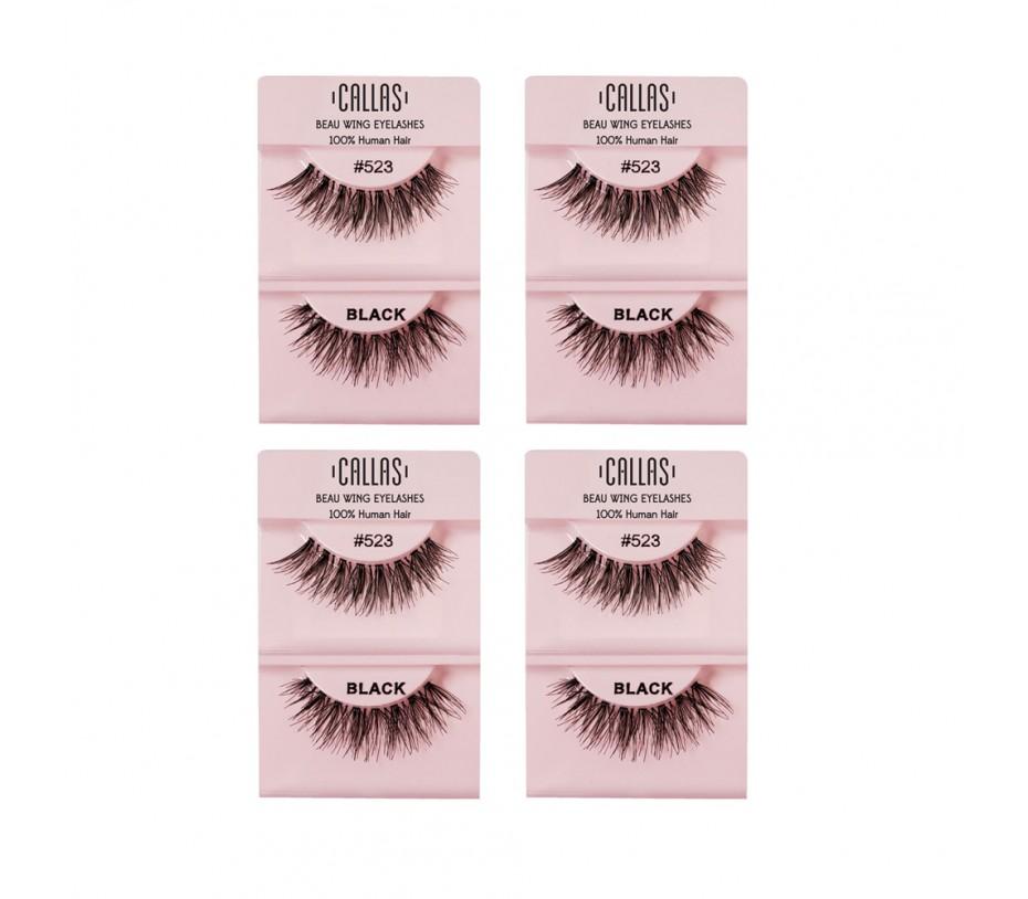 Callas Beau Wing Eyelashes #523 1pair x 4sets