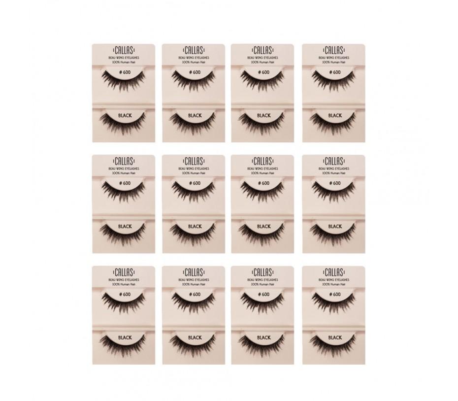 Callas Beau Wing Eyelashes #600 1pair x 12sets