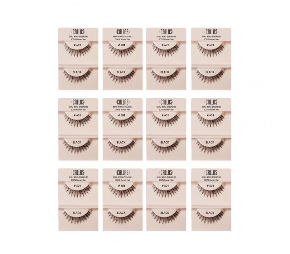 Callas Beau Wing Eyelashes #601 1pair x 12sets