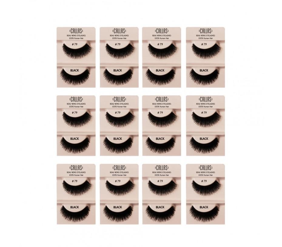 Callas Beau Wing Eyelashes #79 1pair x 12sets