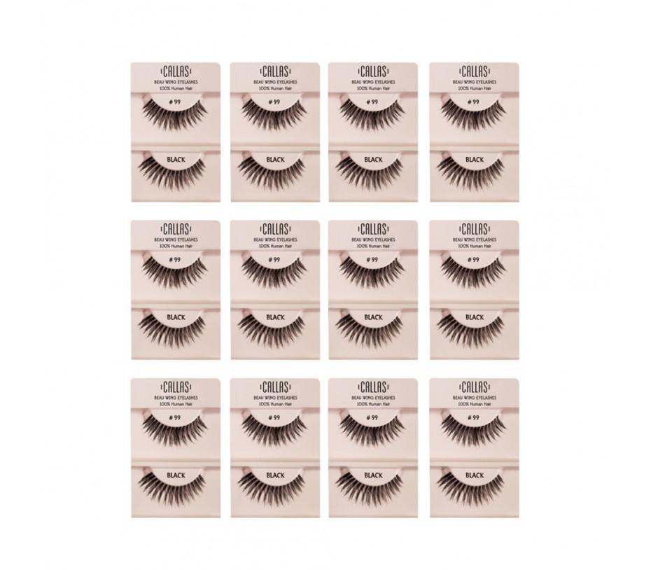 Callas Beau Wing Eyelashes #99 1pair x 12sets