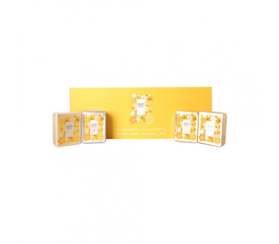 Callas Essential Oil Soap Gift Set 3.88oz/110g